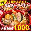 【送料無料】3種から選べる北海道極旨スパイシー.スープカレー2食. (...