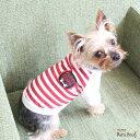 スポーティ Tシャツ color:赤/白ボーダー