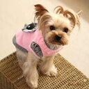 ハートのアップリケTシャツcolor:ピンク愛犬のお名前プリント無料 1