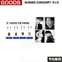 3. VOICE KEYRING / SHINee Special Party [The Shining] Official Goods