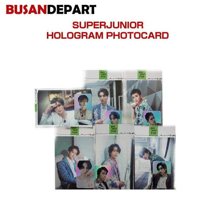 韓国(K-POP)・アジア, 韓国(K-POP) SUPERJUNIOR HOLOGRAM PHOTOCARD SUM DDP 1811SJ 1