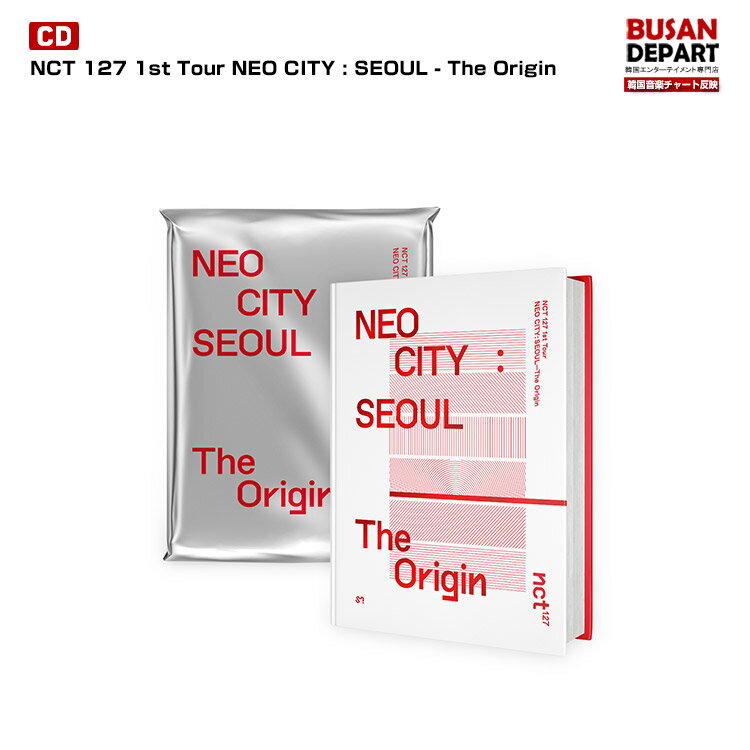 韓国(K-POP)・アジア, 韓国(K-POP) NCT 127 1st Tour NEO CITY : SEOUL - The Origin PHOTOBOOKLIVE ALBUM 1