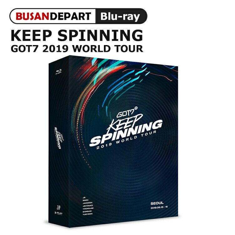 韓国(K-POP)・アジア, 韓国(K-POP) Blu-Ray GOT7 2019 WORLD TOUR KEEP SPINNING IN SEOUL ALL FREE 1