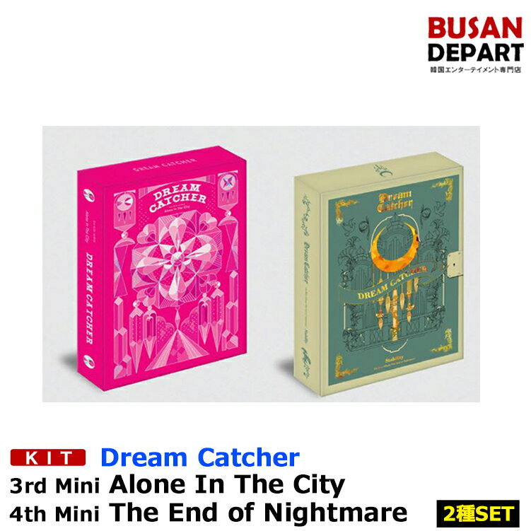 韓国(K-POP)・アジア, 韓国(K-POP) KIT2Dream Catcher 34Alone In The CityThe End of Nightmare 1
