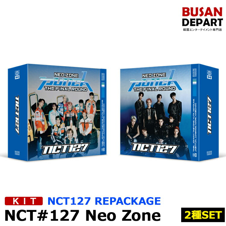 韓国(K-POP)・アジア, 韓国(K-POP) KIT Ver 2NCT127 2 repackageNeo Zone:The Final Round 1