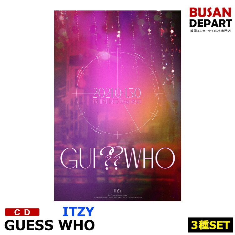 CD, 韓国(K-POP)・アジア 3 ITZY GUESS WHO CD 1
