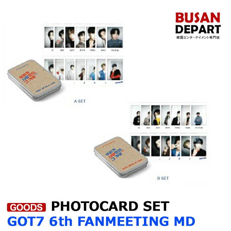 韓国(K-POP)・アジア, 韓国(K-POP) GOT7 12 POLAROID PHOTOCARD SET 6TH FANMEETING OFFICIAL MD 1