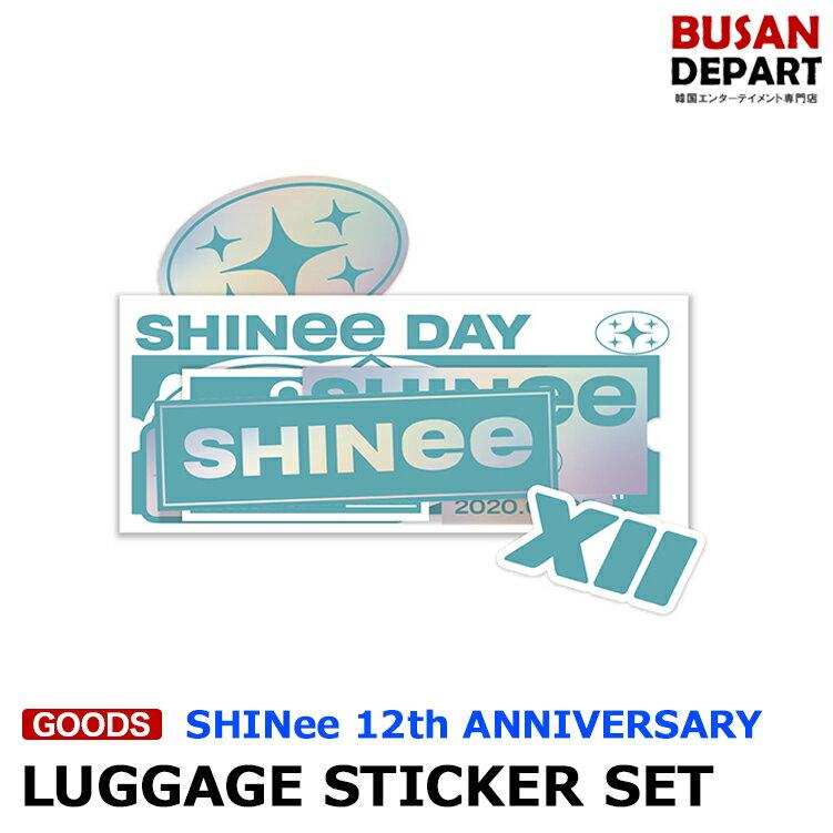 韓国(K-POP)・アジア, 韓国(K-POP) SHINee SHINee DAY 12th ANNIVERSARY LUGGAGE STICKER SET 12 1