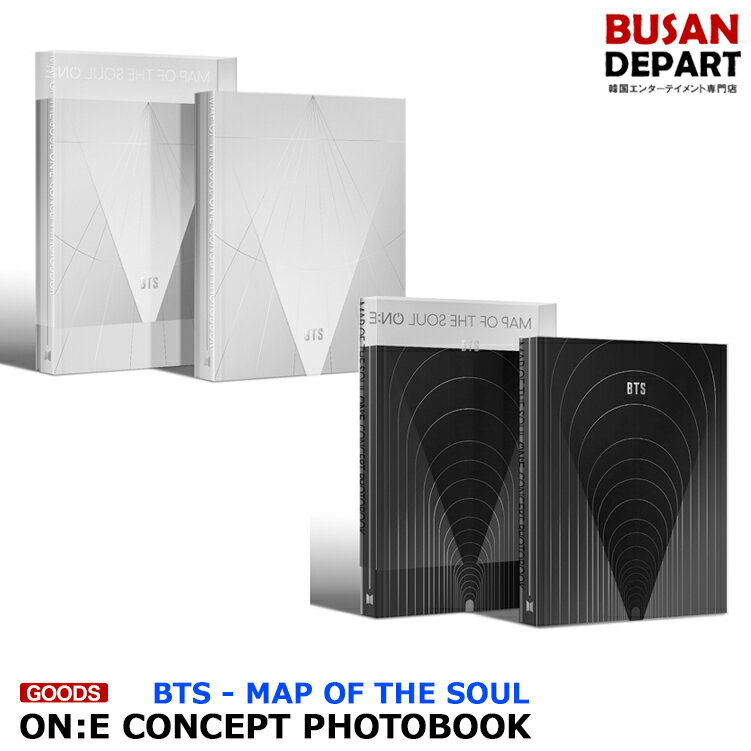 韓国(K-POP)・アジア, 韓国(K-POP) BTS MAP OF THE SOUL ON:E CONCEPT PHOTOBOOK BTS 1