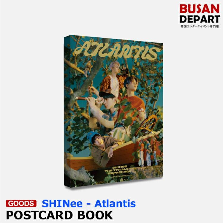 韓国(K-POP)・アジア, 韓国(K-POP) SHINee POSTCARD BOOK - Atlantis SM MD 1
