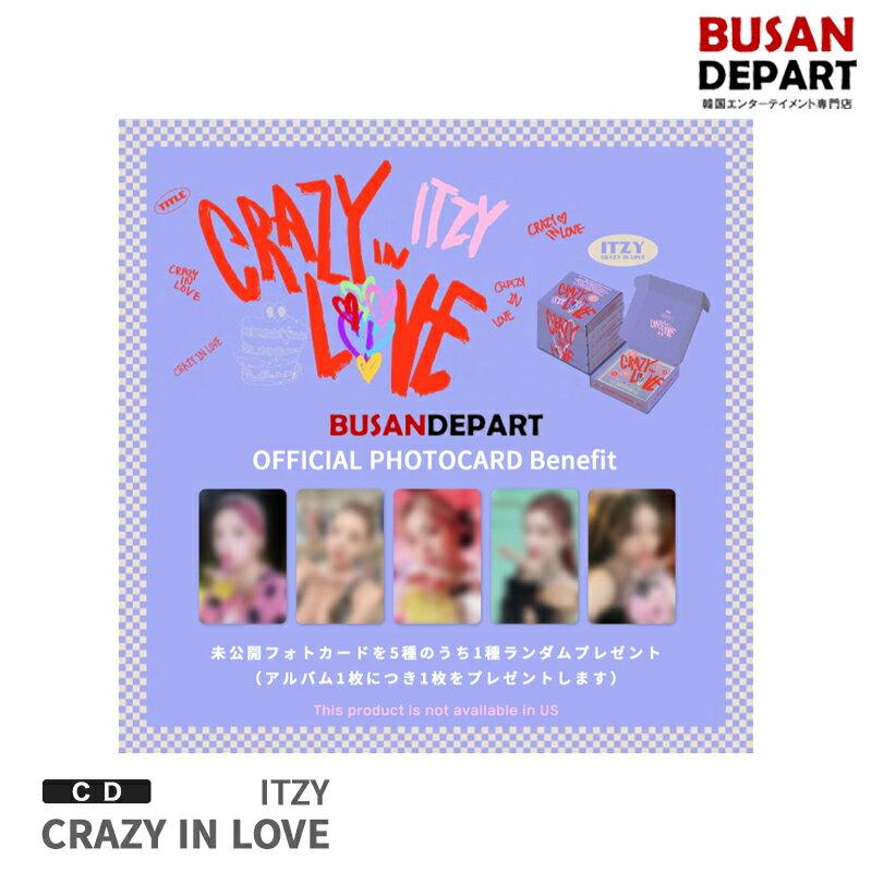 CD, 韓国(K-POP)・アジア  Ver ITZY 1CRAZY IN LOVE CD 1