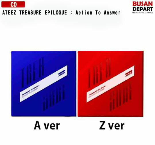 韓国(K-POP)・アジア, 韓国(K-POP) 2 ATEEZ TREASURE EPILOGUE : Action To Answer A, Z Ver.