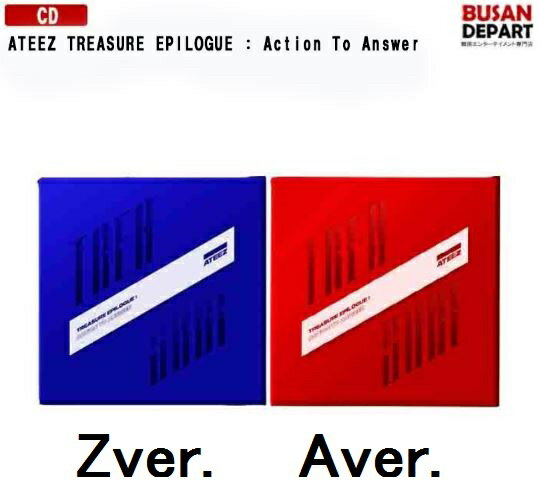 韓国(K-POP)・アジア, 韓国(K-POP) 2 ATEEZ TREASURE EPILOGUE : Action To Answer A, Z Ver. 1