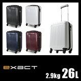 エース イグザクト フェイザー スーツケース 26L 機内持ち込み S ACE exact 06081