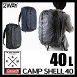 2way ダッフルバッグ リュック バックパック ショルダーバッグ Coleman コールマン CAMP SHELL 40 キャンプシェル 防水加工 40L ターポリン 2000031113 2000031114