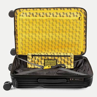 CRASH BAGGAGEのスーツケース 内装