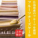 広島県産のフルーツを使用した一口サイズのチーズケーキフルーツ チーズケーキ 6種詰め合わせセ...