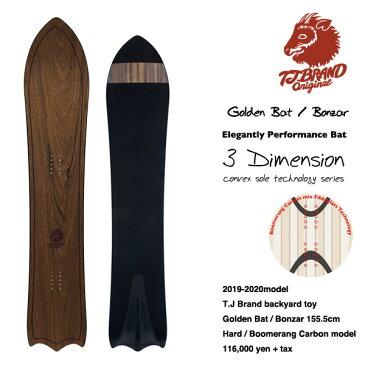 【1920モデル入荷!】T.J Brand original Golden Bat / Bonzar Boomerang Carbon model 2020モデル / ティージェイ ゴールデンバット