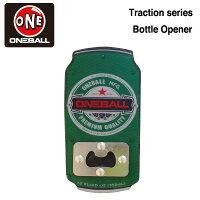 oneballTractionBOTTLEOEPENER/ワンボール栓抜き付きのユニークなデッキトラクションパッド