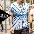 Tシャツ メンズ 大きいサイズ マーブリング ムラ柄 ブリーチ プリント 半袖 Tシャツ メンズファッション 個性的 B系 ストリート系ファッション ヒップホップ ビッグサイズ ビックサイズ キングサイズ バスター 西海岸 オラオラ系 悪羅悪羅系 サーフ リゾート