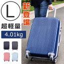 スーツケース キャリーケース キャリーバッグ ファスナー 送料無料 1年間保証 7泊?14泊用 大型 L サイズ 軽量 TANOBI X1602 XANDRA