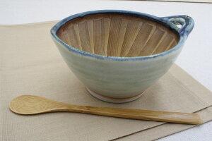 御深井 納豆鉢(大)ヘラ付