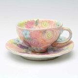 色彩優花 コーヒー碗皿