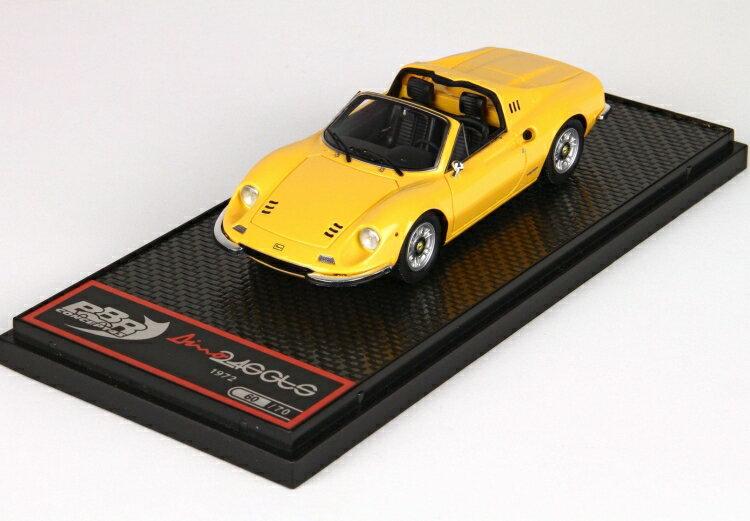 車, ミニカー・トイカー  BBR 143 Dino 246 GTS Ferrari Giallo Modena BBRC54B 2001500101479
