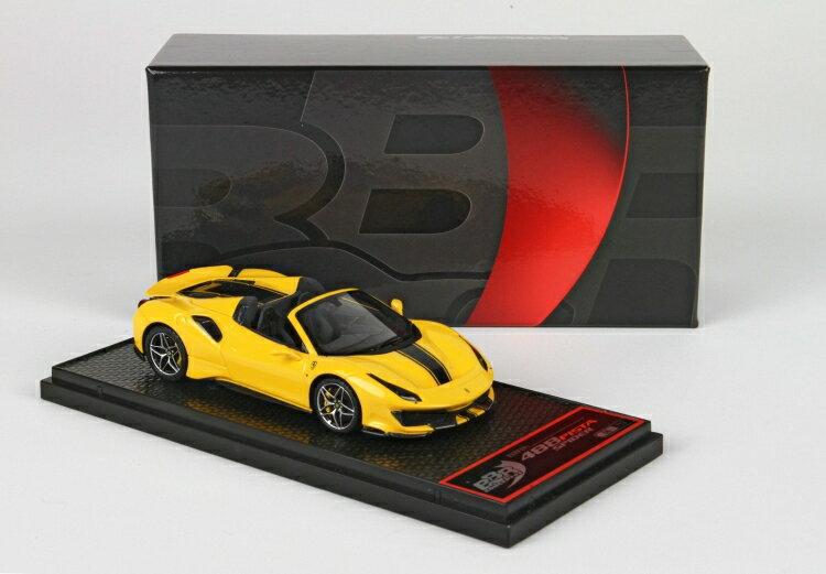 車, ミニカー・トイカー BBR 143 488 Pista Spider 2018 Giallo Modena BBRC218F ferrari 2001500101882