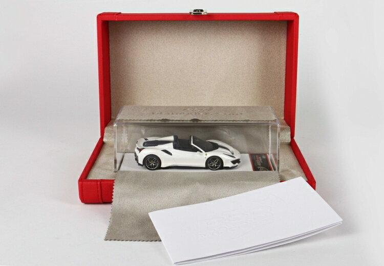 車, ミニカー・トイカー BBR 143 488 Pista Spider 2018 Bianco Italia Met Special packaging BBRC218ACOF ferrari 2001500101936