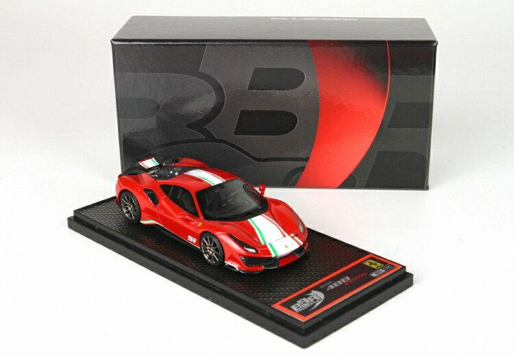 車, ミニカー・トイカー BBR 143 488 Pista Piloti Rosso Corsa 322 BBRC216A ferrari 2001500102520