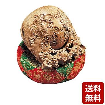 本楠 木魚 龍彫 4.0寸〜7.0寸