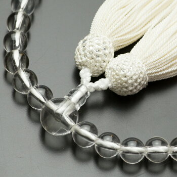数珠数珠&数珠袋&ふくさ慶弔3点セット数珠女性用ふくさ水晶ちりめん