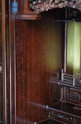 唐木仏壇天の川TUK16号紫檀系[唐木仏壇各宗派用[仏具別]唐木仏壇小型仏壇床置仏壇
