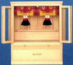 小型御霊舎美しい木目・仕上りの良さが人気!極上祭壇宮「伊勢」(特小)(祖霊舎)