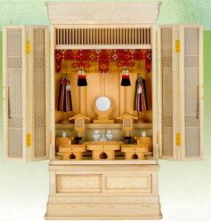 小型高級御霊舎特選祭壇宮「京」上置型(祖霊舎)