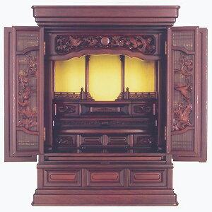 仏壇上置型金仏壇大徳29号高880×巾660×奥行530×須弥壇上270mm