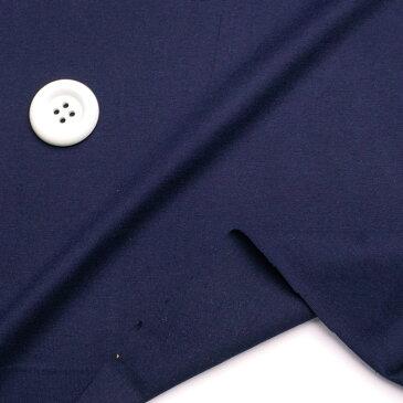 コットン 30/ 天竺ニット ネイビー 170cm巾 Tシャツ 50cm単位 はかり売り 手芸 クラフト 生地