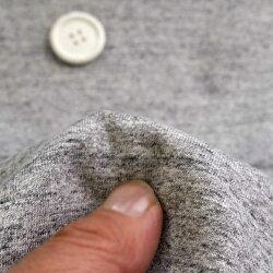 ニット生地天竺ニット南アグレー杢54センチW幅カットソー50cm単位はかり売り手芸生地tシャツ