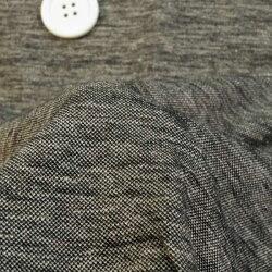 ニット生地鹿の子ニットメランジ黒杢170cm幅涼しい滑らかモダール50cm単位はかり売り手芸布生地