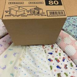 子供服限定福袋ニット生地ベビー〜幼稚園児向き70〜130サイズ小花キャラ動物☆ニットデニムで100サイズ箱いっぱい