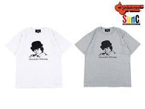 MEDICOM TOY Sync./メディコムトイ シンク-ALEX 時計仕掛けのオレンジ Tシャツ