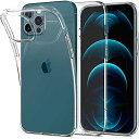 Spigen iPhone 12 Pro Max ケース 6.7インチ リキッド・クリ...