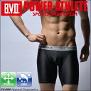 BVD POWER-ATHLETE ハーフスパッツ スポーツアンダーウェア 【コンビニ受取対応商品】 pa305