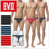 B.V.D. Tバック 「ラインボーダー」【セクシー】 【コンビニ受取対応商品】