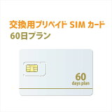 テレワーク向け60日プラン 交換用プリペイドSIMカード