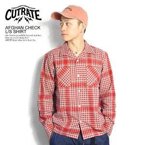 カットレイト シャツ CUTRATE AFGHAN CHECK L/S SHIRT【メンズファッション ストリート系】
