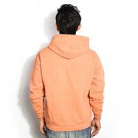フルーツオブザルームパーカーFRUITOFTHELOOMFRUITDYEDPULLOVERPARKA-APRICOT-0123-502ftaストリート系ファッション
