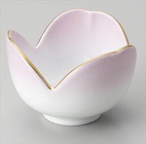 割山椒珍味 渕金ピンク サイズ:6×4.2cm