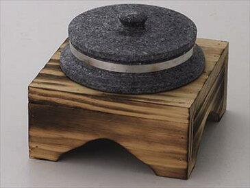 20cm焼杉木台 サイズ:19.5×19.5×9.5cm